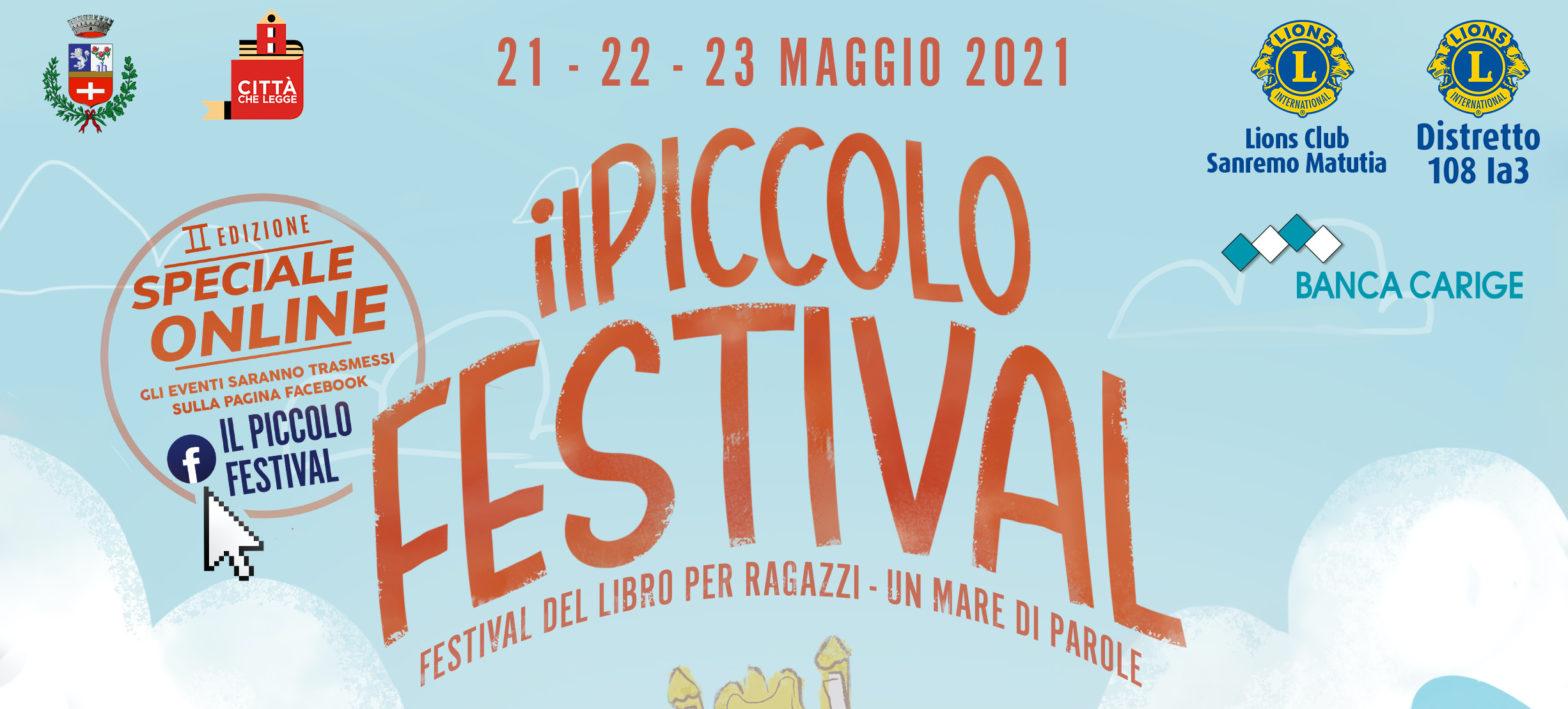 """Dal 21 al 23 maggio la seconda edizione de """"Il Piccolo Festival"""""""