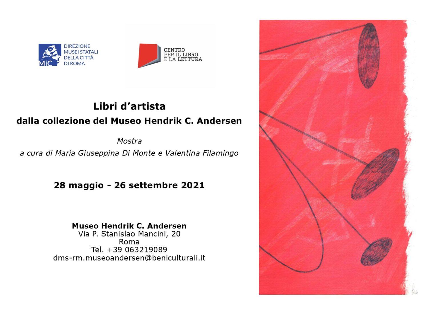 """Dal 28 maggio la mostra """"Libri d'artista dalla collezione del Museo Andersen"""""""