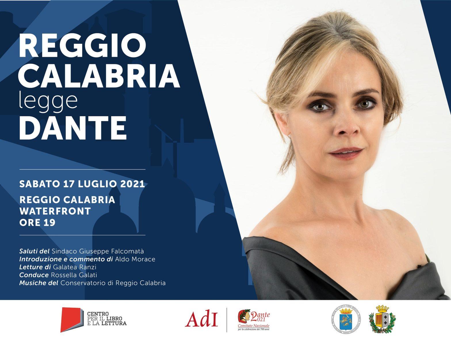 """Torna """"Città che legge Dante"""": il 17 luglio appuntamento a Reggio Calabria"""
