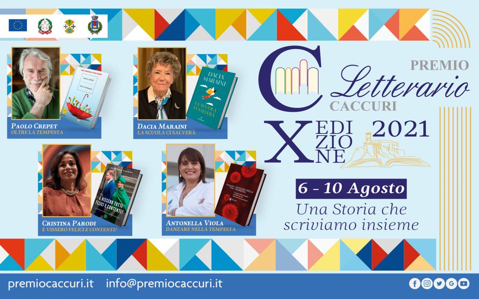 Dal 6 al 10 agosto torna il premio letterario Caccuri