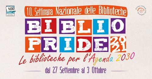 Dal 27 settembre al 3 ottobre torna Bibliopride con la decima edizione
