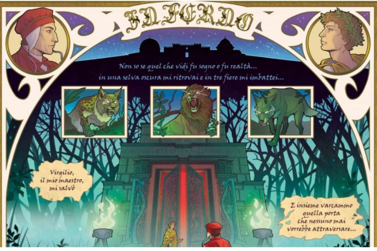La Divina Commedia in fumetto: dal 7 settembre una mostra all'IIC di Marsiglia